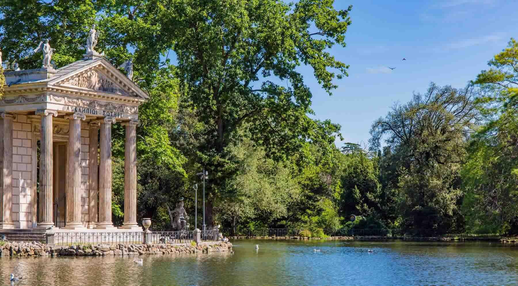 Villa Borghese Parkı