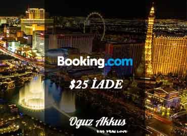 Booking 25$ indirim