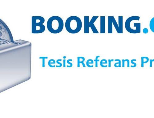 Booking.com Tesis Referans Programı